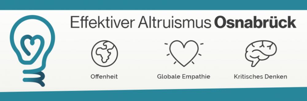 Effektiver Altruismus Osnabrück